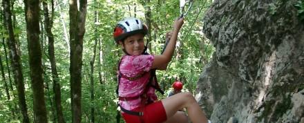 Berg-Abenteuer Klettern