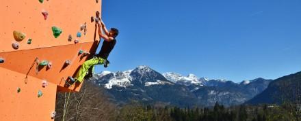 25 Jahre Kletterhalle Berchtesgaden