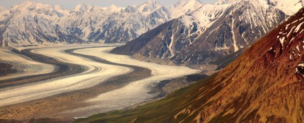 Gletscherreise Gneis-Findling vom Silberg
