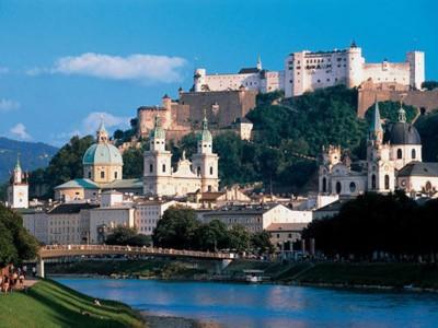 Salzburg mit Festung