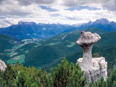 Steinerne Agnes und das Bischofswieser Tal