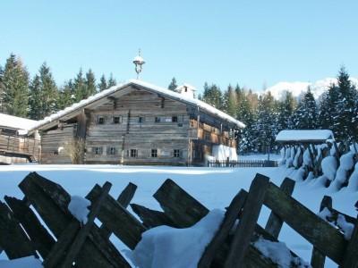 Winter im Freilichtmuseum Salzburg