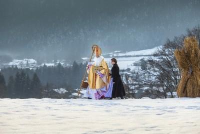 Traditionelles Buttnmandl-Laufen in Bischofswiesen c) Marika Hildebrandt