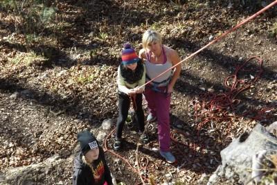 Kinder- und Familienklettern Bischofswiesen