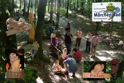 Märchenwanderung am Märchenpfad Bischofswiesen