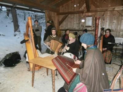 Bergweihnacht mit Musik und Gesang auf der Kastensteinerwand in Bischofswiesen