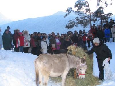 Bergweihnacht im winterlichen Bischofswiesen