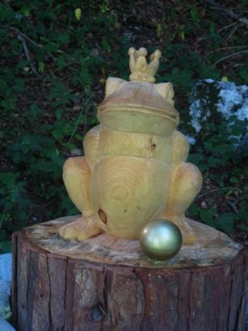 Froschkönig im Märchenwald Bischofswiesen