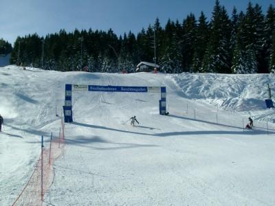 Ziel Ski- und Snowboard Strecke Götschen