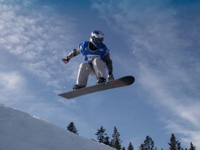 Snowboard Freestyle Götschen bei Berchtesgaden