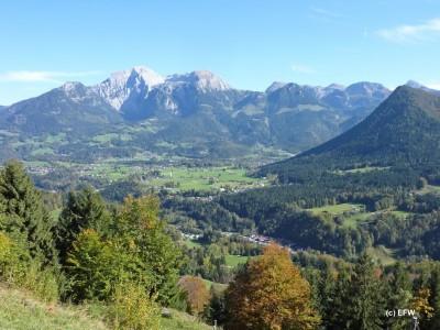 Bergausblick vom Söldenköpfl in Bischofswiesen