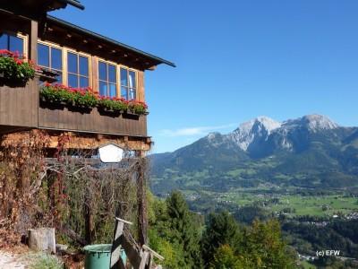 Berggaststätte Söldenköpfl am Soleleitungsweg in Bischofswiesen