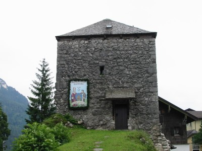 Mittelalterlicher Hallthurm in Bischofswiesen