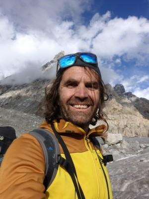 Bergsteiger Thomas Huber von den Huberbuam