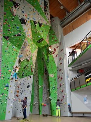 Kletterhalle Berchtesgaden Bergsteigerhaus Ganz Bischofswiesen