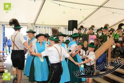 Plattlergruppe D´Watzmanner beim Bier- und Weinfest 2017