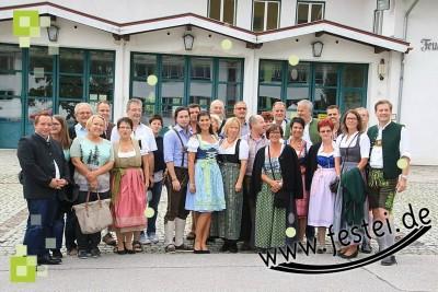 Besucher aus unserer Partnergemeinde Wölbling