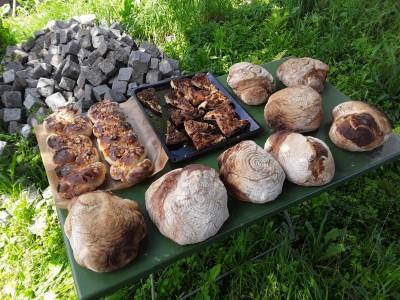 Frisch Gebackenes vom Steinbackofen Bischofswiesen
