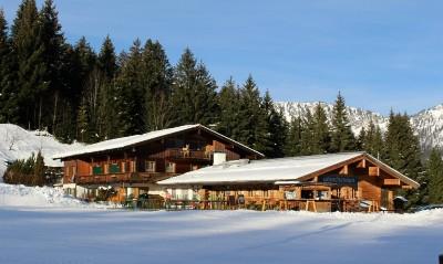 Götschenalm im Skigebiet Götschen Bischofswiesen