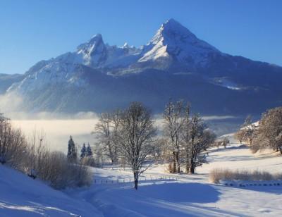 Winterwanderung auf dem Naturerlebnisweg Bischofswiesen