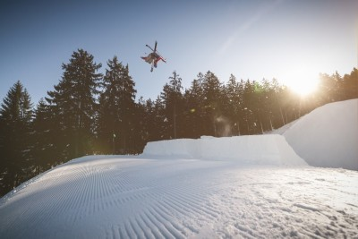 Götschen.Snowpark Freestyle