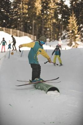 Freestyle-Talente am GÖTSCHEN.SNOWPARK Skizentrum Götschen in Bischofswiesen