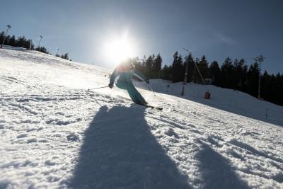 Sonnen-Skifahren am Götschen in Bischofswiesen