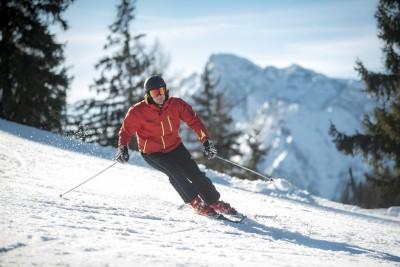 Schnee und Berge - Genussskifahren am Götschen in Bischofswiesen