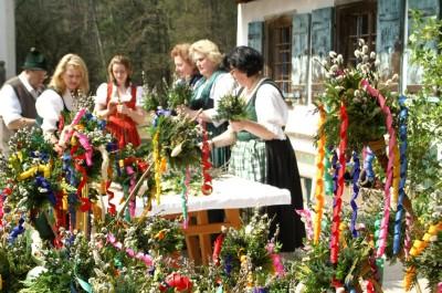 Traditioneller Ostermarkt im Freilichtmuseum Salzburg