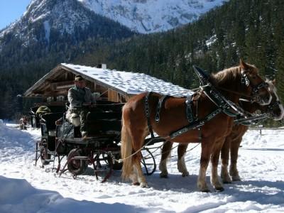 Pferdekutschfahrt im Nationalpark Berchtesgaden