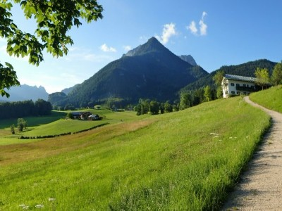 Hochgartdörfl am Natur-Erlebnisweg Bischofswiesen