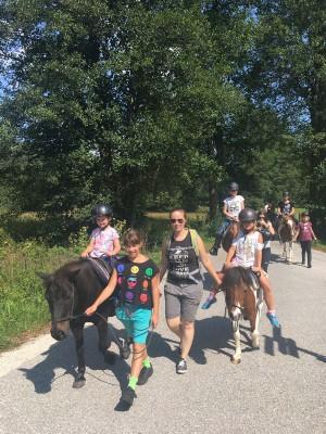 Kinderreiten in der Reitschule Katharina