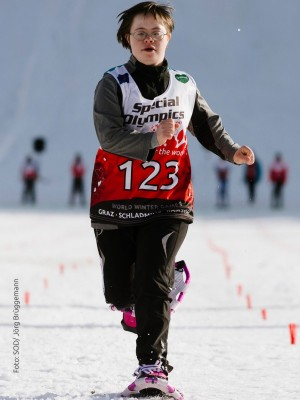 Special Olympics 2017, Schneeschuhlauf c) Special Olympics Deutschland