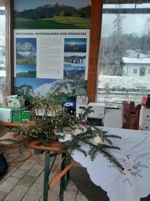 Adventlich geschmückt: Weihnachts-Weinmarkt Bischofswiesen