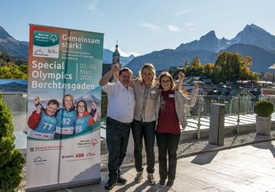 Botschafter der Special Olympics Berchtesgaden 2020