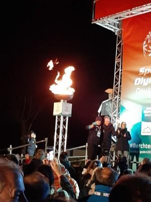Das Olympische Feuer ist entzündet!