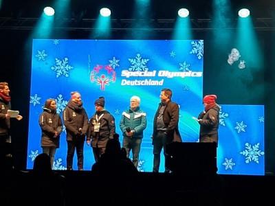 Die Gesichter der Spiele, Athletin Sandrine, Olympiasiegerin Hilde Gerg und Athlet Paul Wembacher  im Interview
