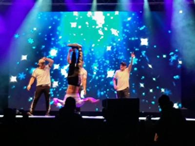 Breakdance bei der Eröffnungsfeier Special Olympics Berchtesgaden