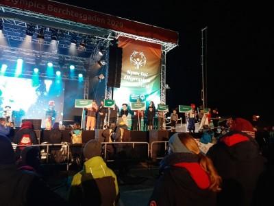 Athleten und Athletinnen der Special Olympics Berchtesgaden