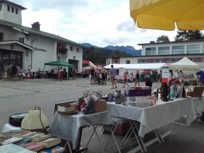 Flohmarkt in Bischofswiesen