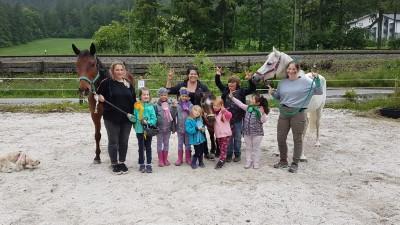 Kinder-Reittournier am Blasihof in Bischofswiesen Familienurlaub in Bischofswiesen im Berchtesgadener Land