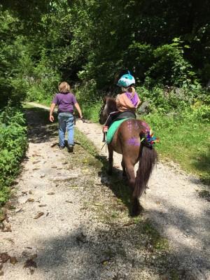 Geführter Ausritt in die Umgebung des Blasihofs Familienurlaub in Bischofswiesen im Berchtesgadener Land