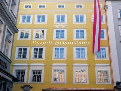 Mozarts Geburtshaus Salzburg Tourismus