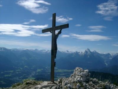 Gipfelkreuz Untersberg