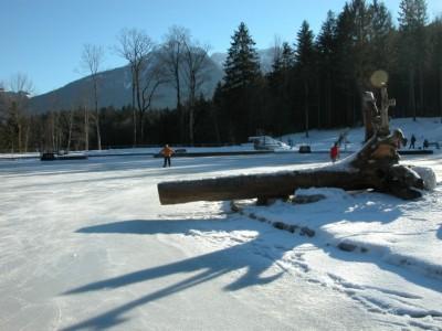 Eislaufen Aschauerweiher