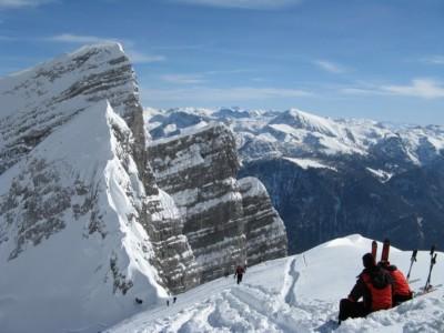 Skitour Watzmann Kar